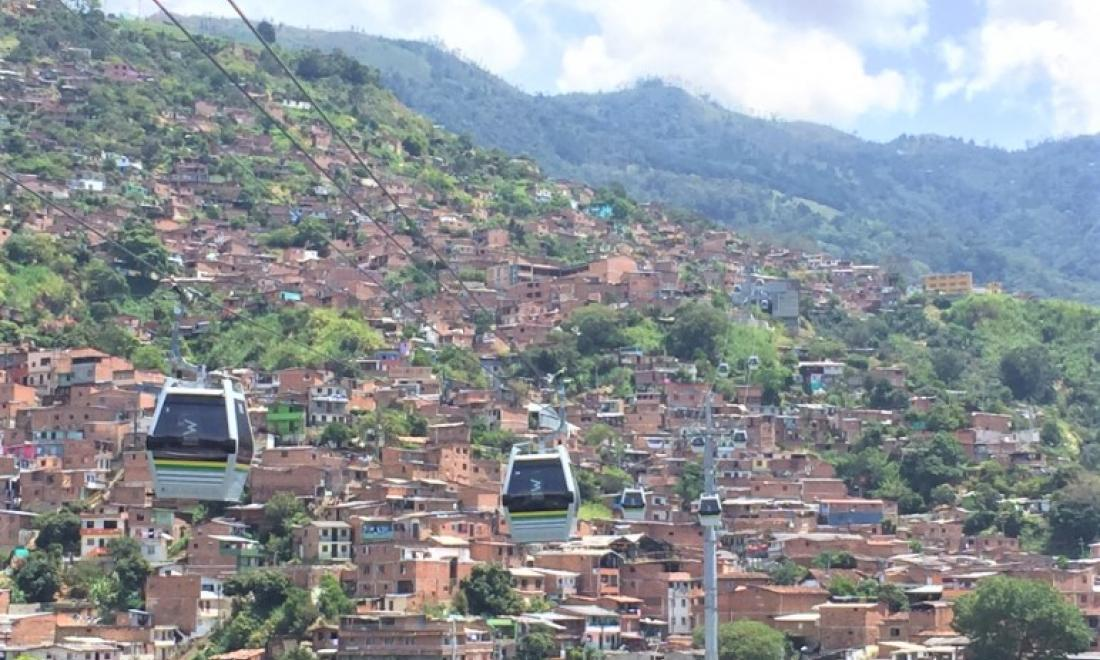 Photo of Colombian city