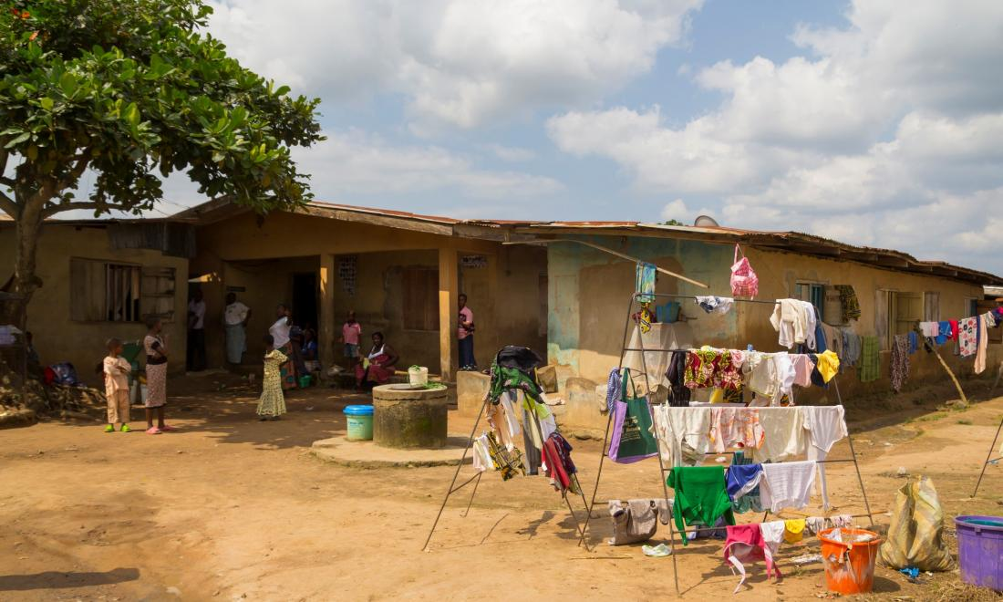 Nigerian family home