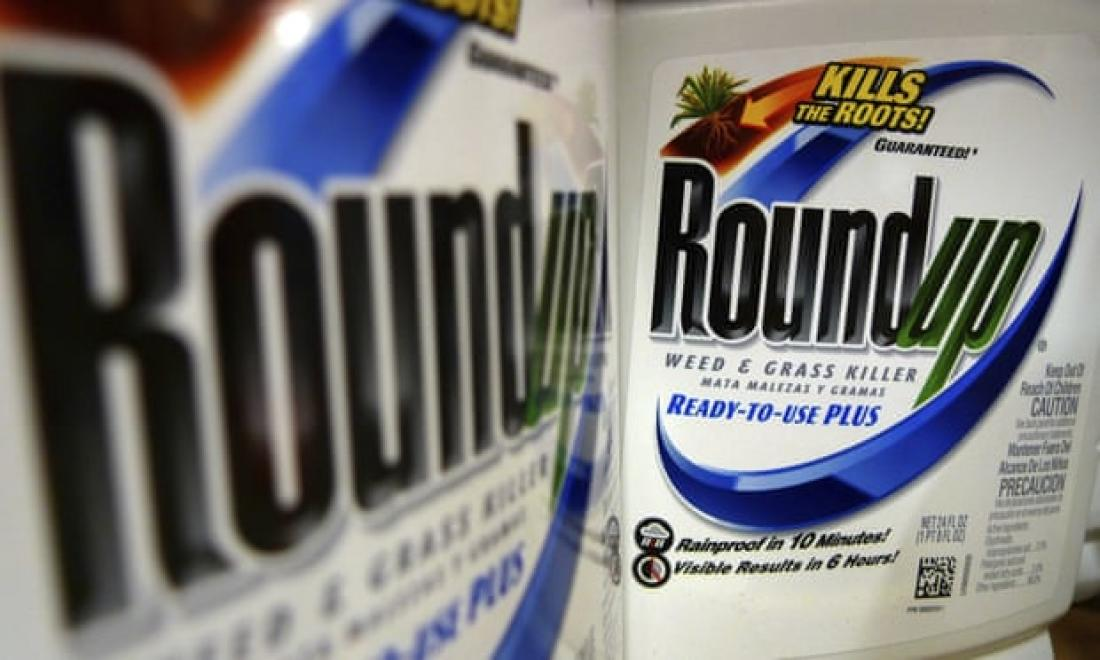 photo of two containers of Roundup