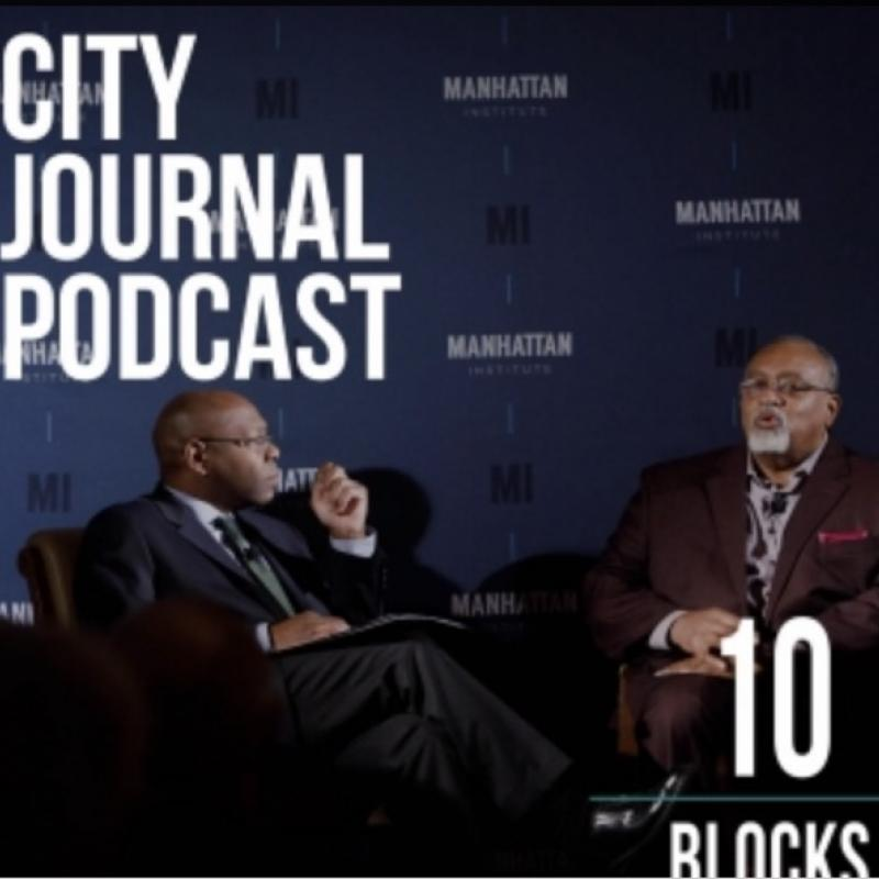 podcast image: Loury and Riley in discussion