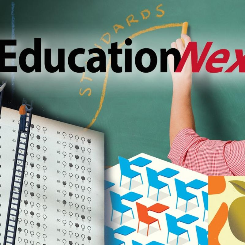 collage of education-related graphics