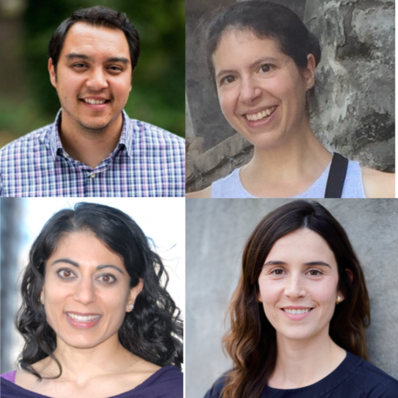 Headshots of featured scholars