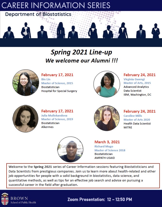 Spring 2021 Career Info Series