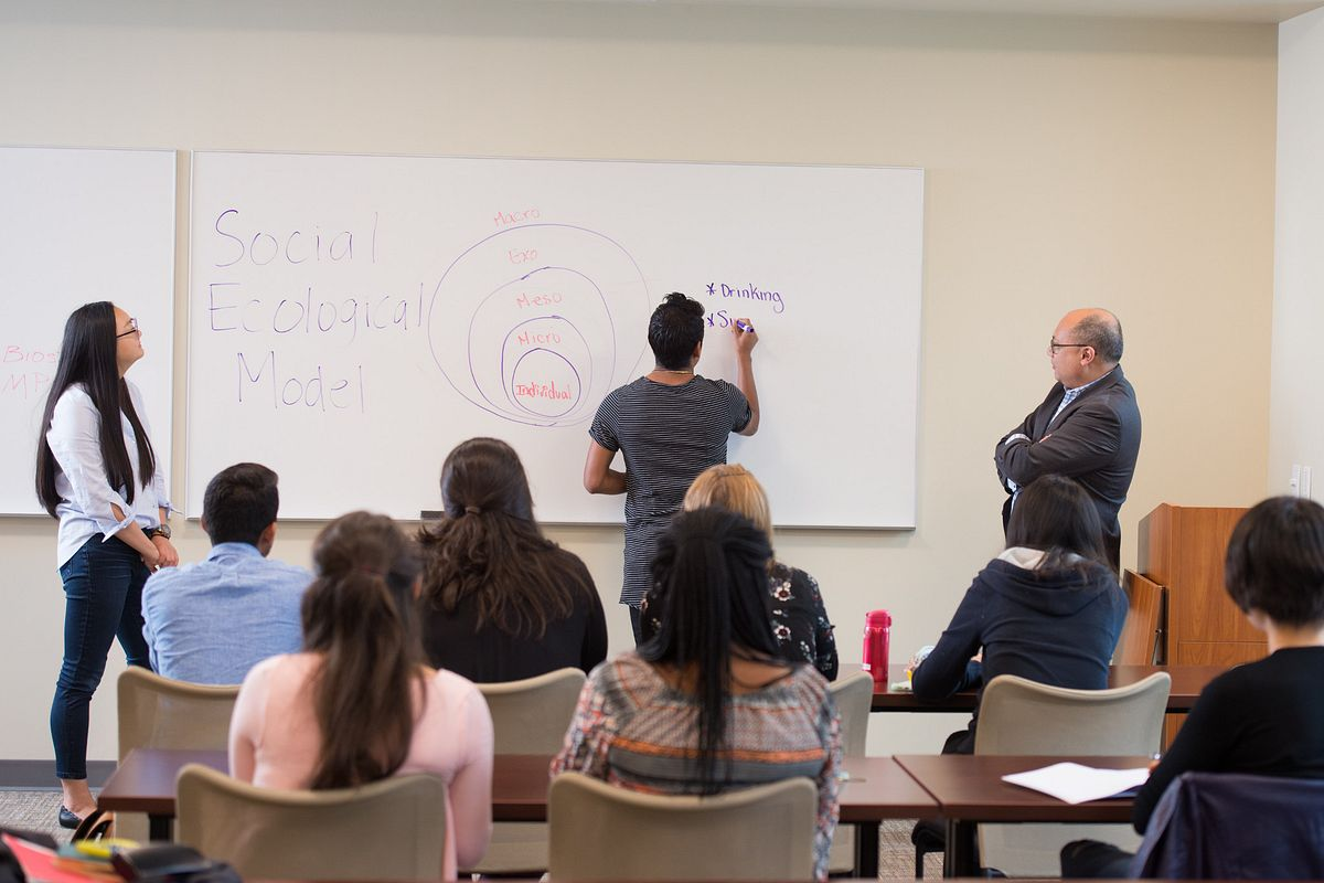 Image of students in classroom