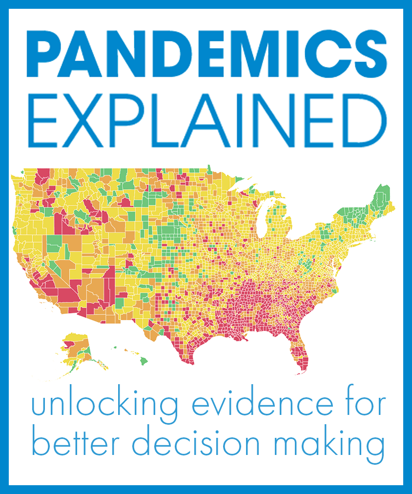Pandemics Explained: Unlocking evidence for better decision making
