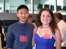 Eric Bai and Michelle Petersen