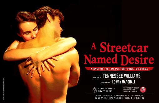 A Streetcar Nmaed Desire poster