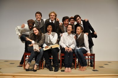 Cast of Gross Indecency, Fall 2011