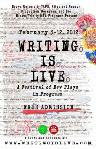 Writing is Live 2012 Poster