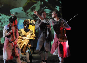 New Works performing Crude, 2009