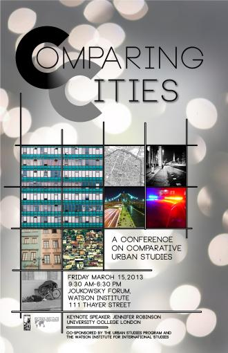 Comparing Cities Conference