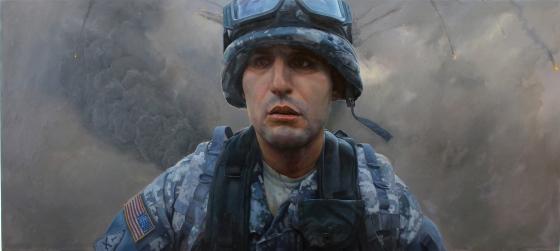 Soldier Paintings Artist
