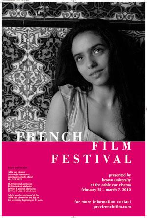 2010 poster: Fançaise