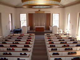 Interior of Manning Chapel