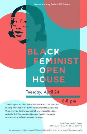 Spring 2018 - Black Feminist Open House