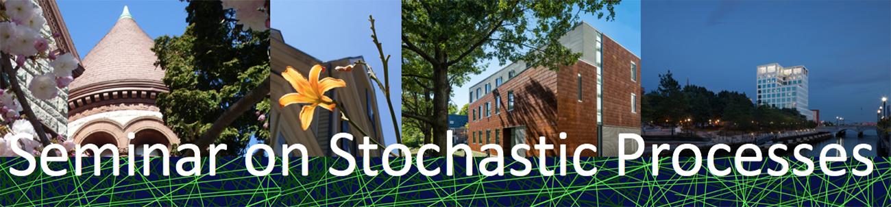 Site banner image for Seminar on Stochastic Processes