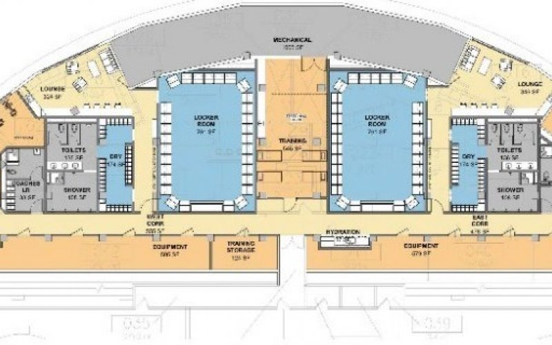 illustration of updated 2nd floor plan