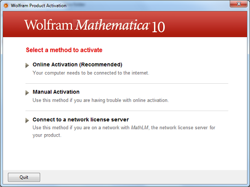 Mathematica for Windows - Connect to a network license server: Step #5