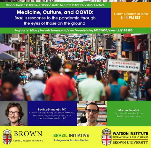 Medicine, Culture, and COVID: Brazil's response to the pandemic through the eyes of those on the ground