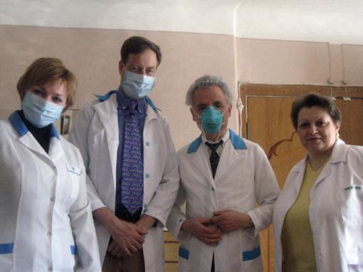 Touring a TB hospital in Kyiv, Ukraine