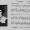 Elizabeth Young Yearbook Segment