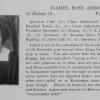 Isabel Ross Abbott, Brun Mael, 1922