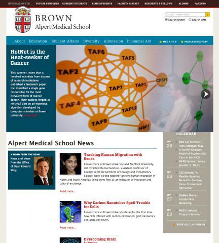 Alpert Medical School Redesign of 2011