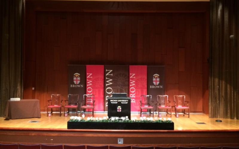 Salomon Center De Ciccio Auditorium Stage
