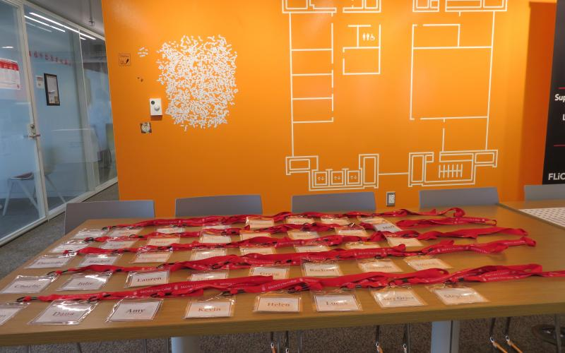 Name tags for Check-In