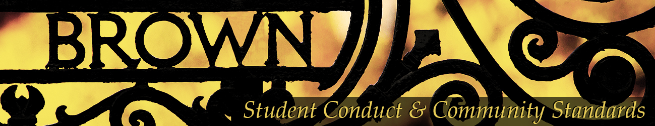 Site banner image for Student Conduct