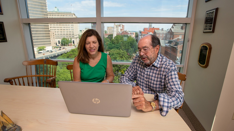 Dr.s Jennifer Tidey and Peter Monti