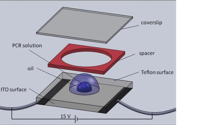 Real-time Droplet DNA Amplification with a New Tablet Platform