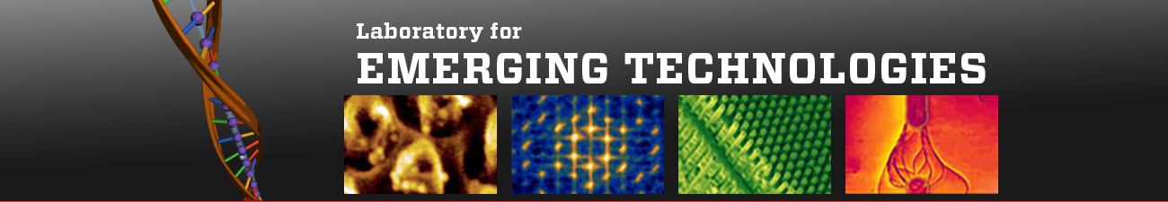Site banner image for Laboratory for Emerging Technologies