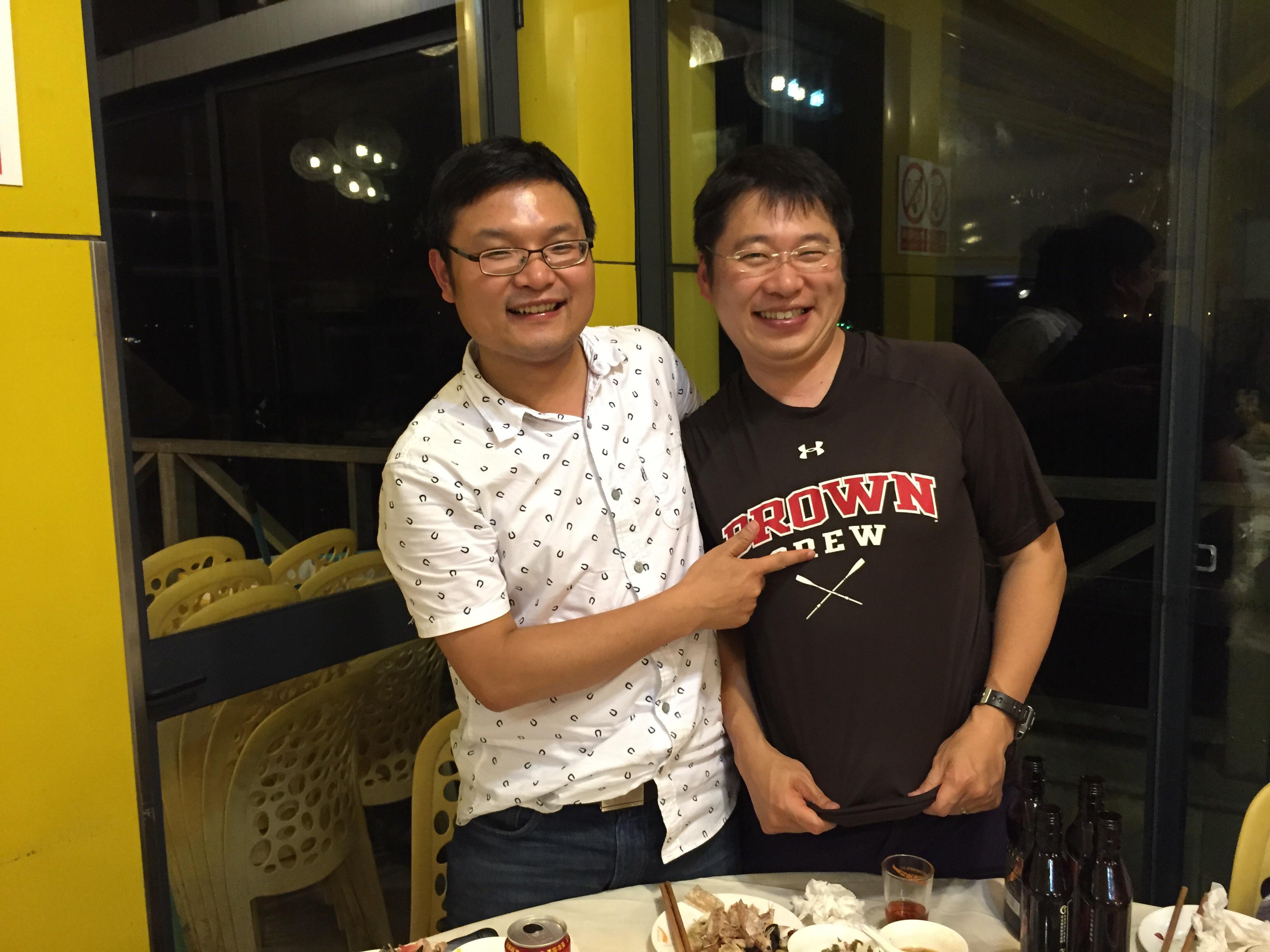 Yutaka Takeuchi and Dons Xu 2015