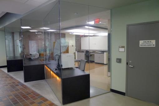 Brown University Herbarium: New facility, Biomedical Center, 171 Meeting Street