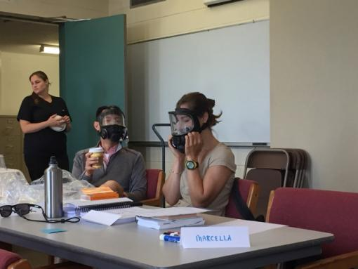 HAZWOPER Training: Faculty, students, postdocs, and staff participated in an 8- and 24-hour Hazardous Waste Operations and Emergency Response Standard (HAZWOPER) training conducted by the New England Consortium at University of Massachusetts Lowell.