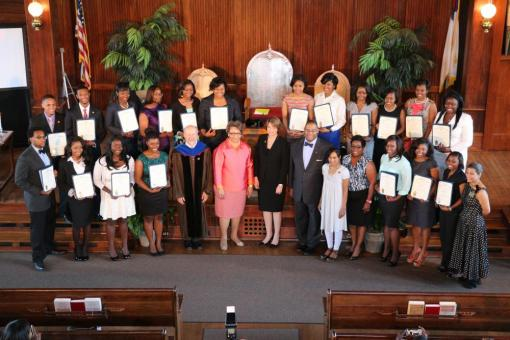 Sigma Xi at Tougaloo Induction Ceremony, 2014