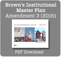 Download Brown's Institutional Master Plan Amendment 3